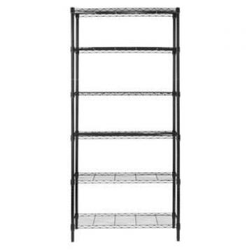 Wlt Commercial C5 Storage Rack Heavy Duty Chrome Steel Wire Shelving
