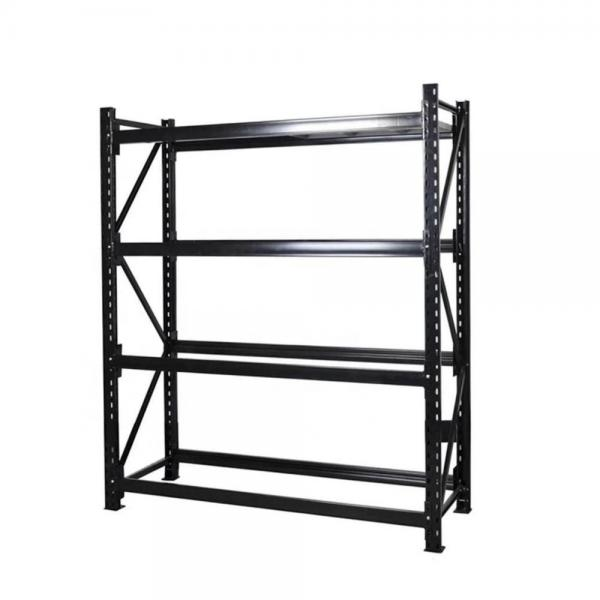 Metallic Material Double Sided Supermarket Equipment Storage Shelf